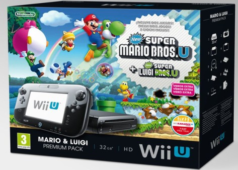 WiiU christmas packs