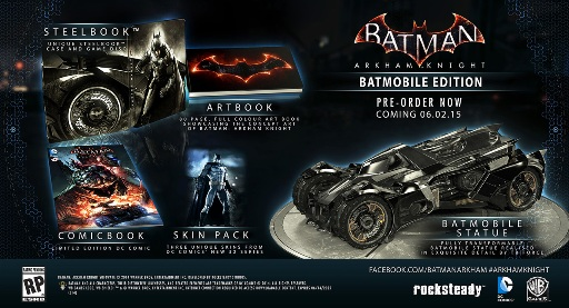 BAK Batmobile Edition
